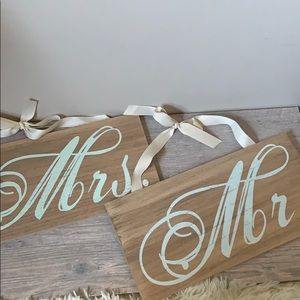 Wedding Wooden Signs